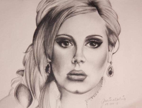 Adele by genierocksuk